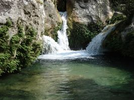 Cavagrande, Cascatelle