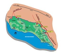 WWF, Sentiero Natura Torre Salsa Mappa